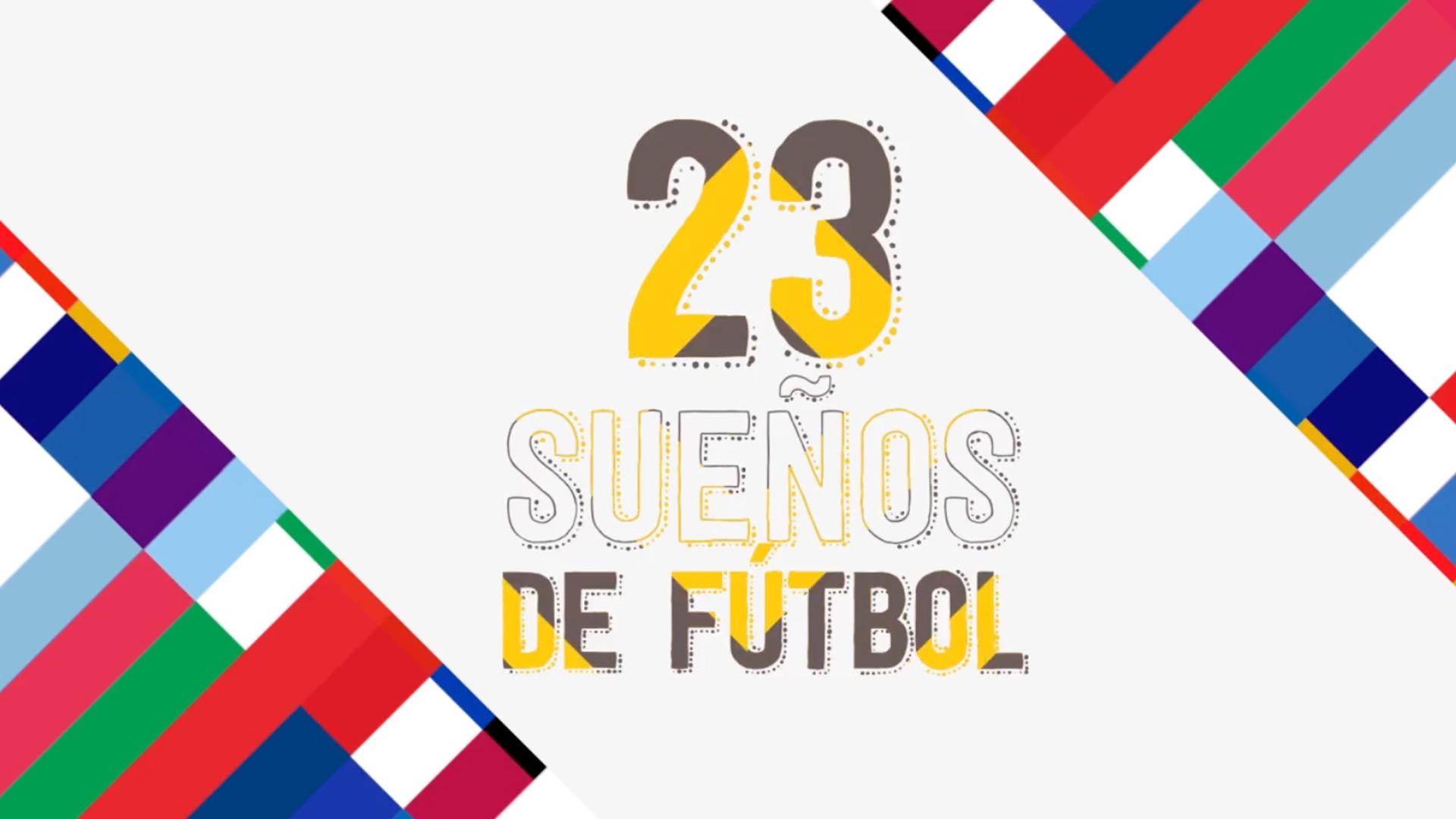 23 sueños de fútbol